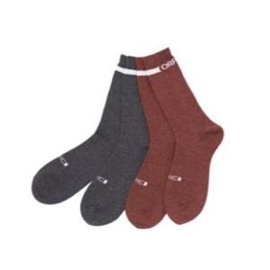 ORIGINAL SOCKS - Black / Maroon