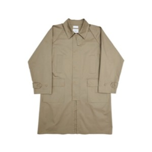WIND COAT w/ nuterm - BEIGE / BLACK