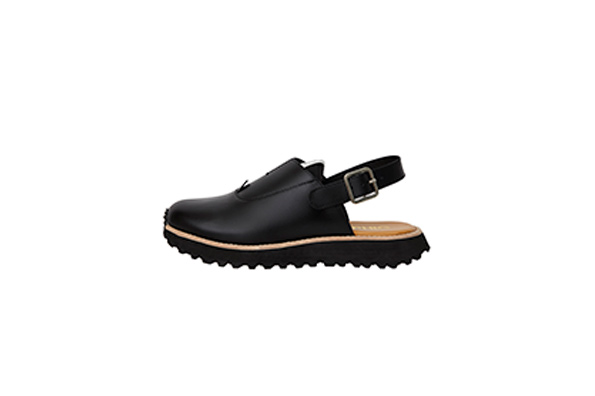 OFFICER SANDALS - BLACK PREMO